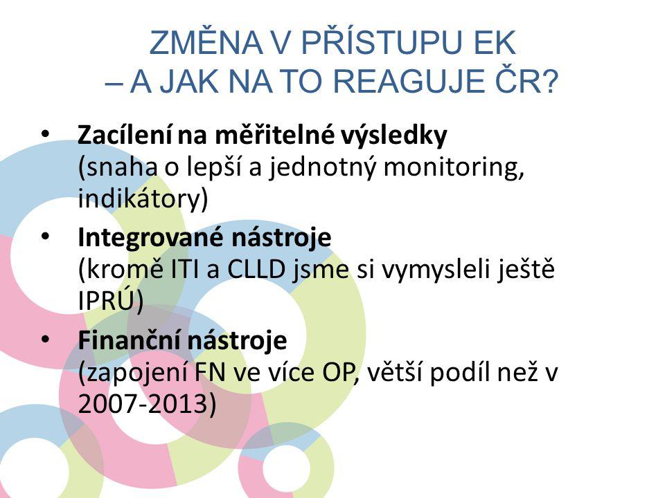 Změna v přístupu EK – a jak na to reaguje ČR