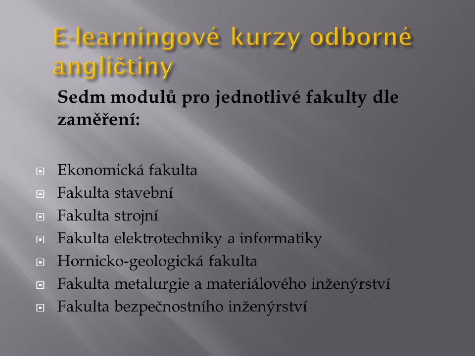E-learningové kurzy odborné angličtiny
