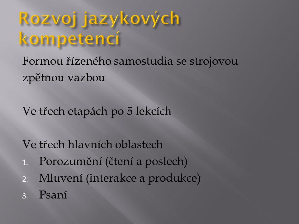 Rozvoj jazykových kompetencí