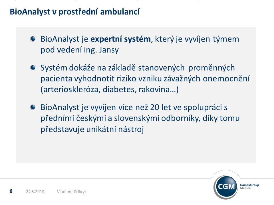 BioAnalyst v prostřední ambulancí
