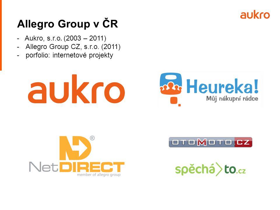 Allegro Group v ČR - Aukro, s.r.o. (2003 – 2011)