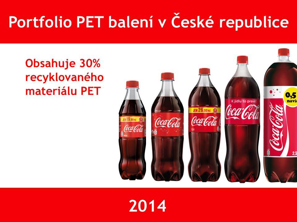 Portfolio PET balení v České republice