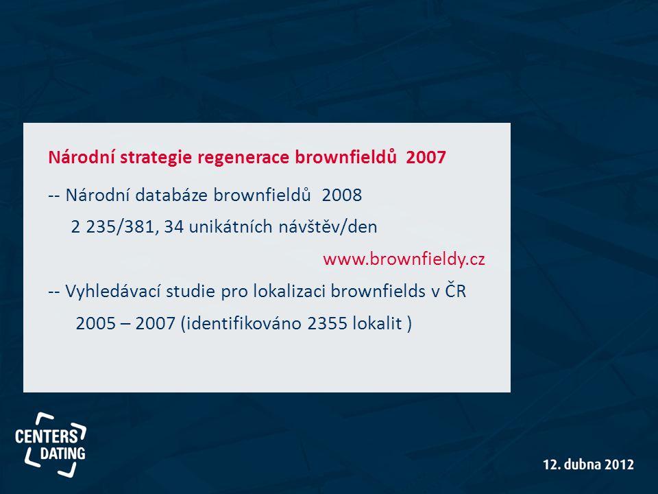 Národní strategie regenerace brownfieldů 2007