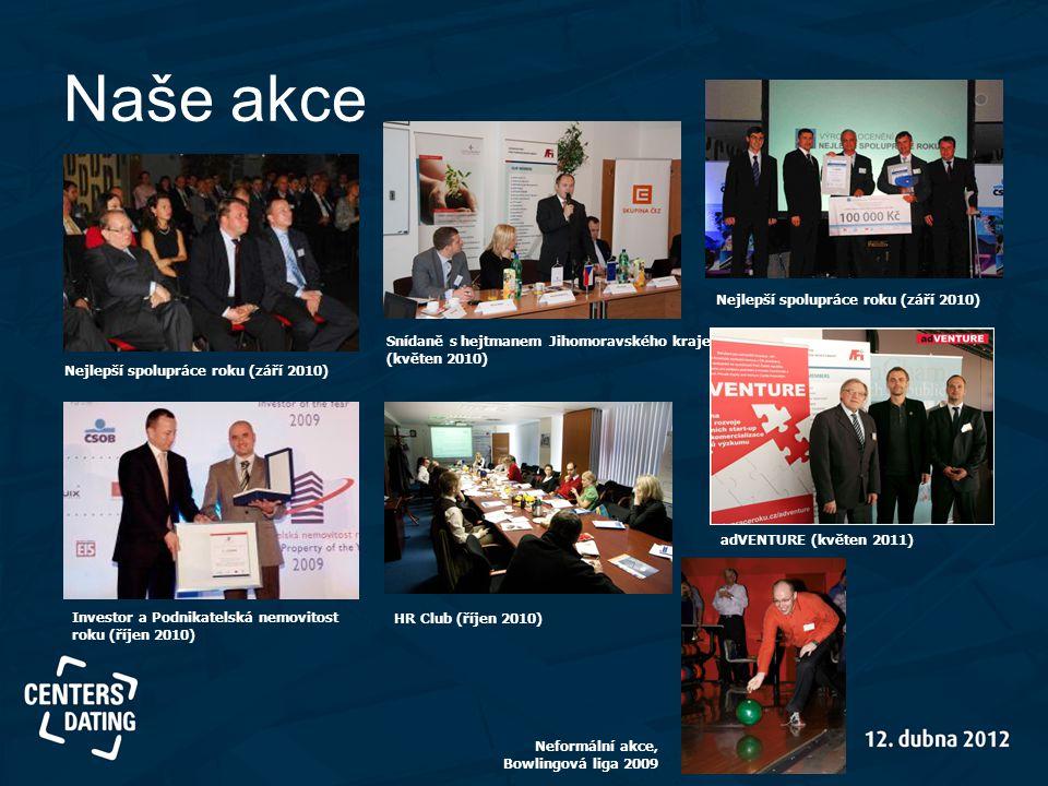Naše akce Nejlepší spolupráce roku (září 2010)
