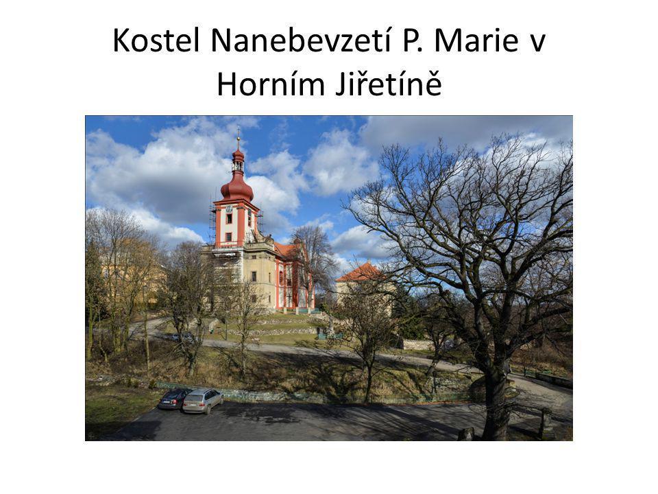 Kostel Nanebevzetí P. Marie v Horním Jiřetíně