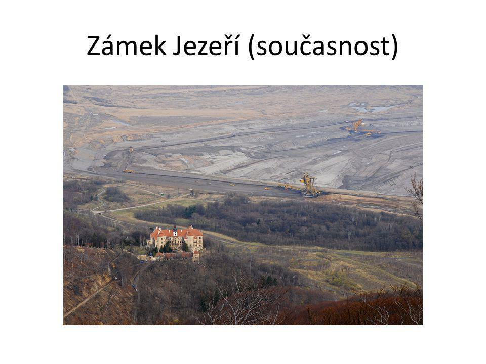 Zámek Jezeří (současnost)