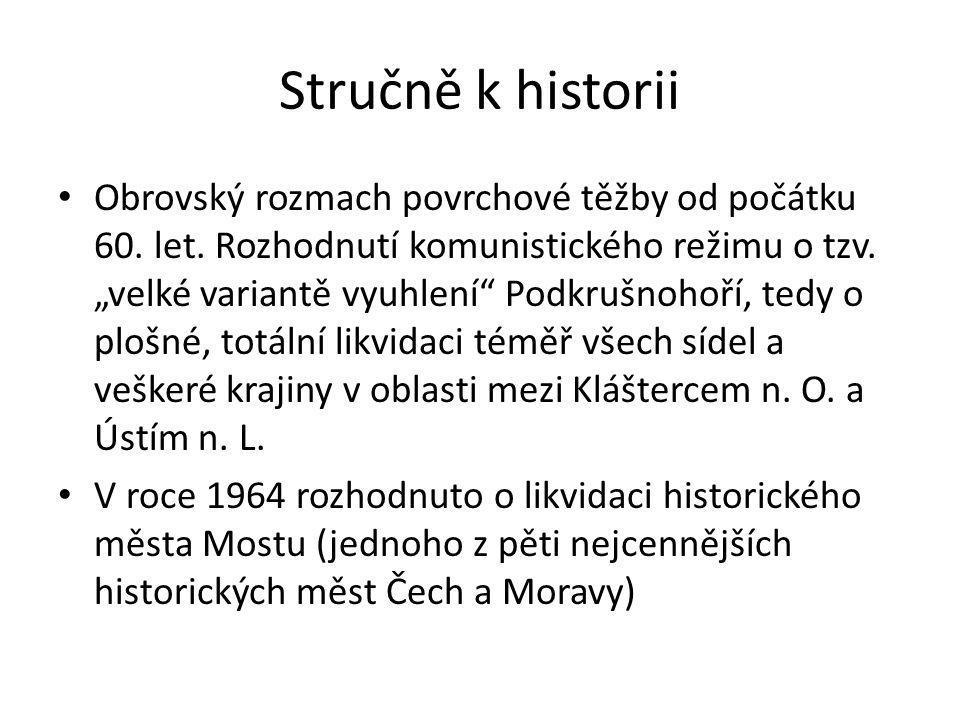 Stručně k historii