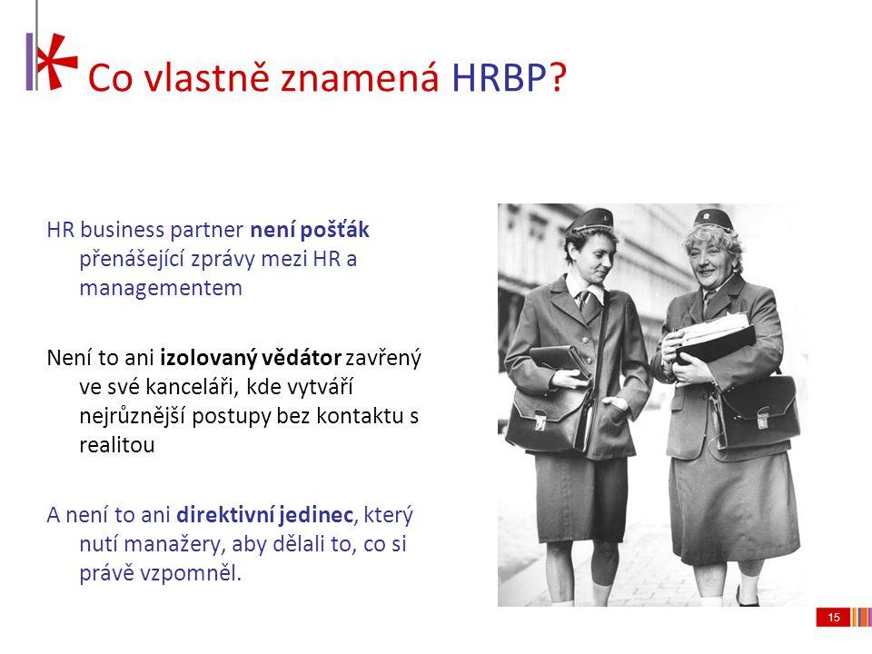 Co vlastně znamená HRBP