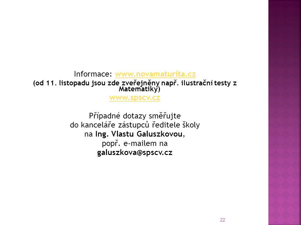 www.spscv.cz galuszkova@spscv.cz