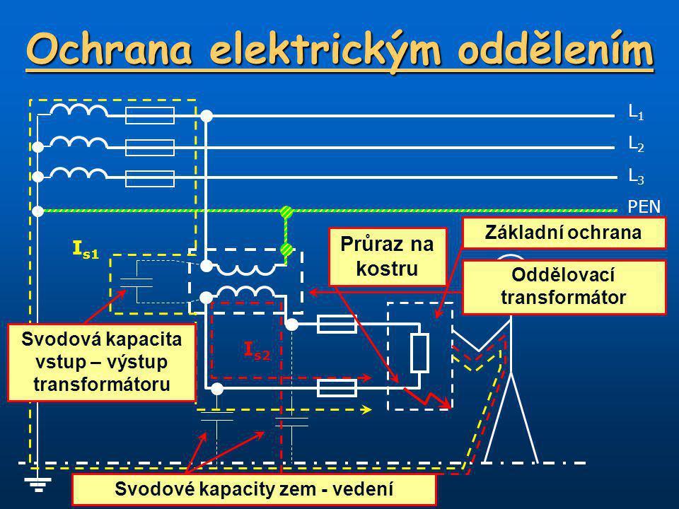 Ochrana elektrickým oddělením