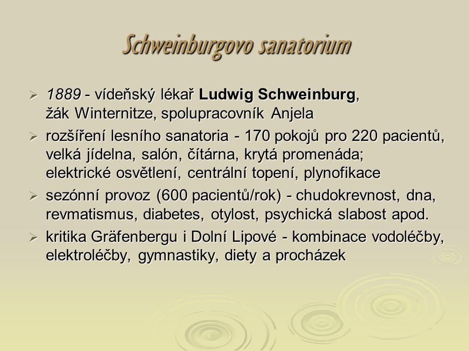 Schweinburgovo sanatorium