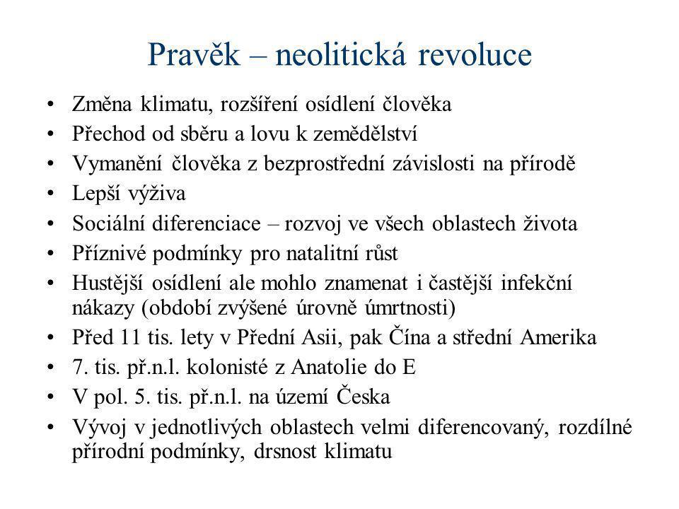 Pravěk – neolitická revoluce