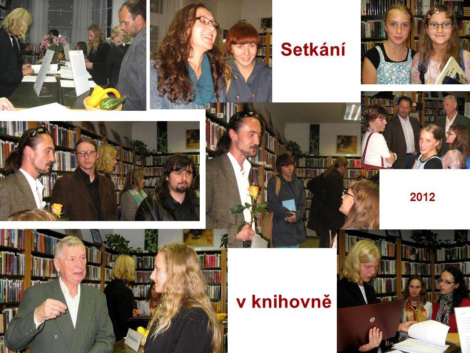 Setkání 2012 v knihovně