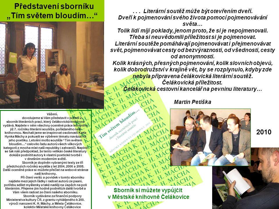 """""""Tím světem bloudím… Představení sborníku 2010"""