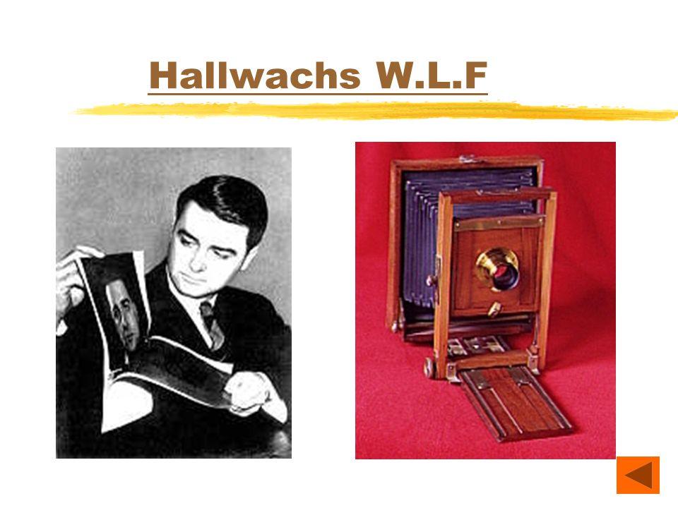 Hallwachs W.L.F