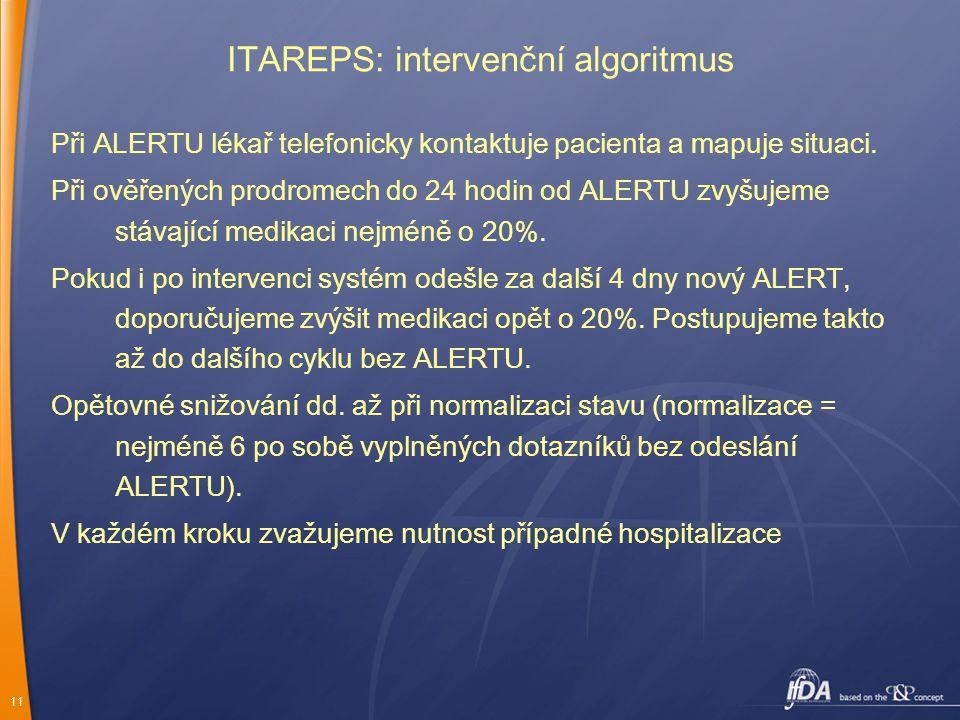 ITAREPS: intervenční algoritmus