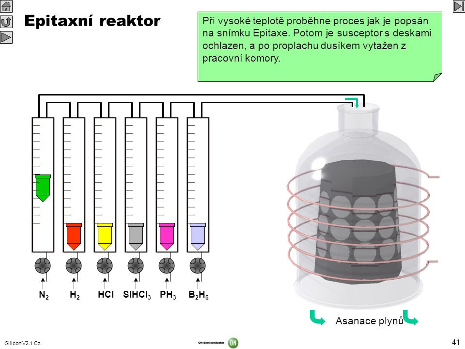 Epitaxní reaktor