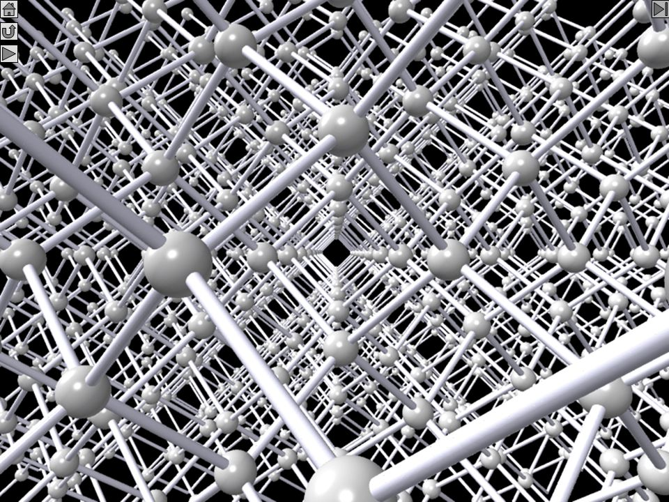 Křemík - uvnitř krystalu