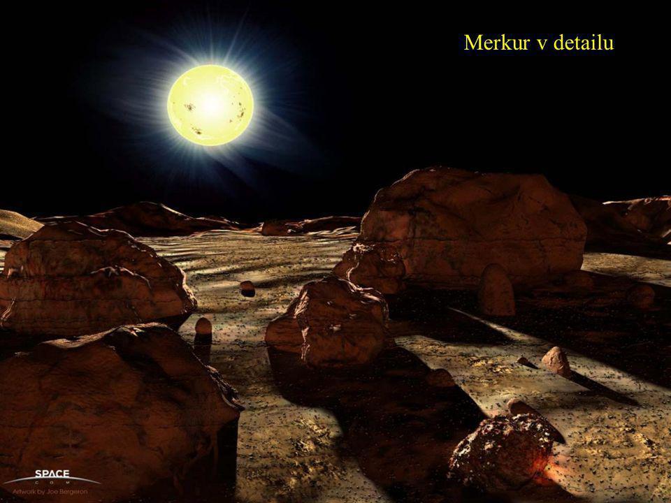 Merkur v detailu