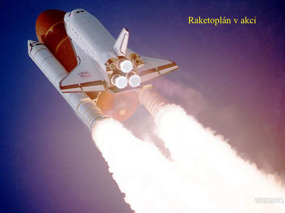 Raketoplán v akci
