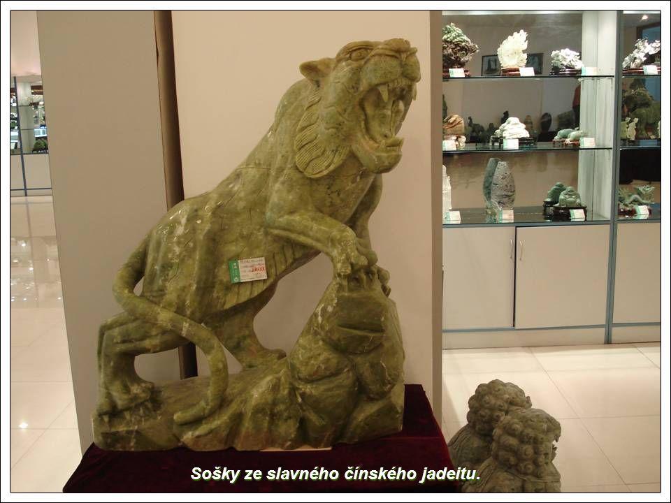 Sošky ze slavného čínského jadeitu.