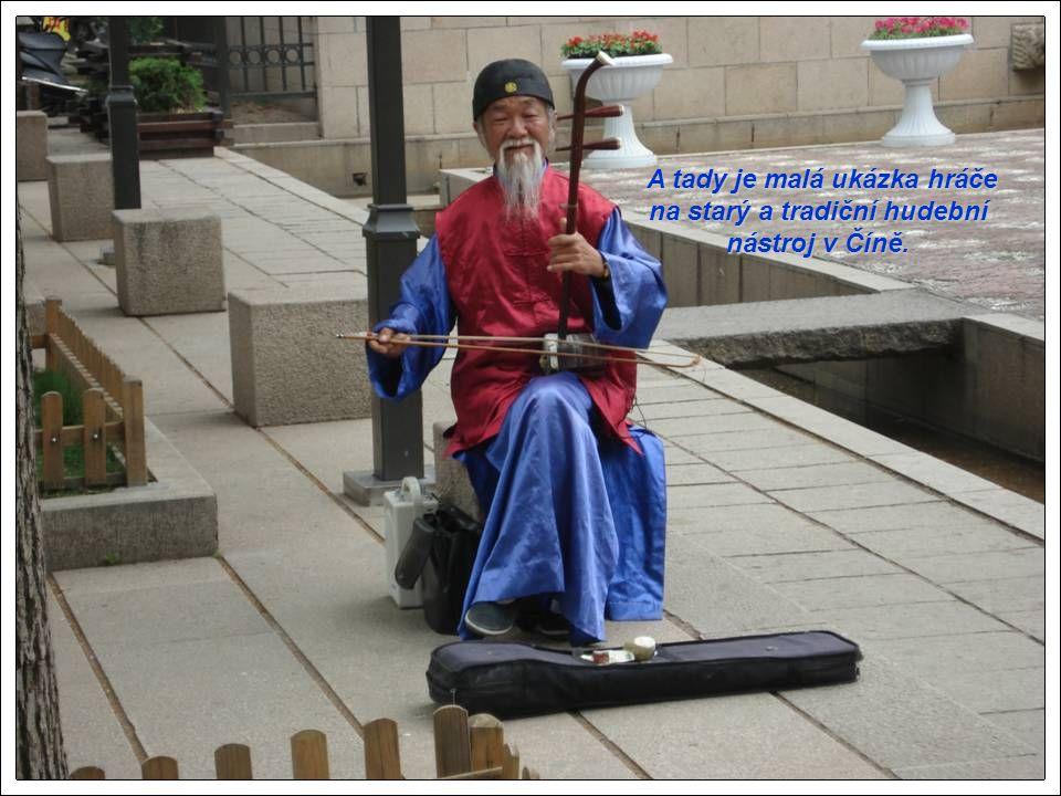 A tady je malá ukázka hráče na starý a tradiční hudební nástroj v Číně.