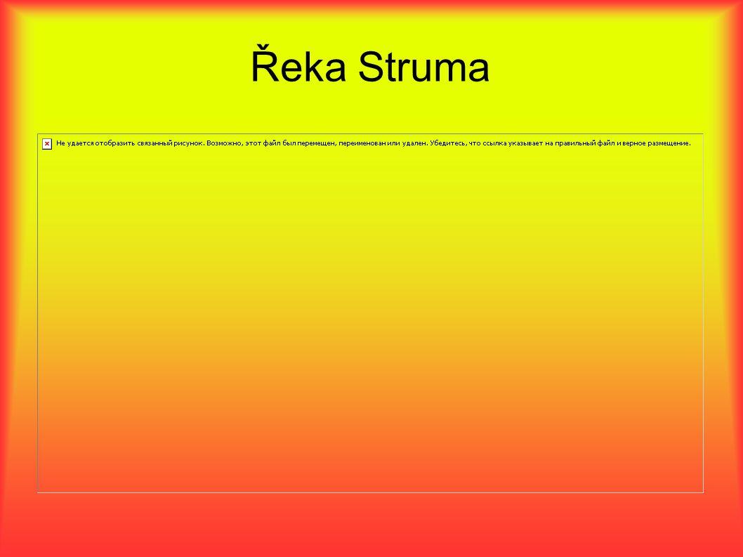 Řeka Struma