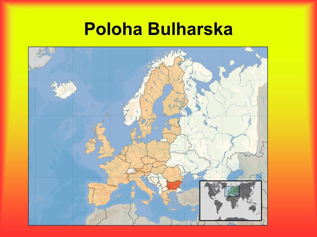 Poloha Bulharska