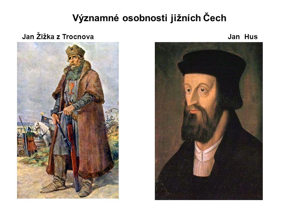 Významné osobnosti jižních Čech