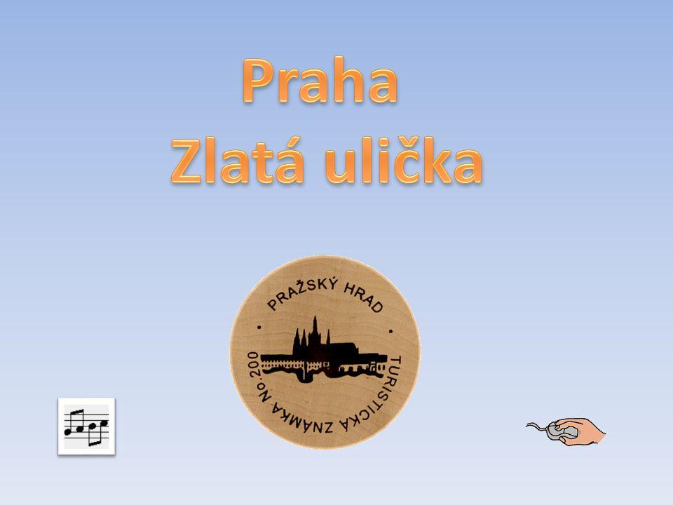 Praha Zlatá ulička