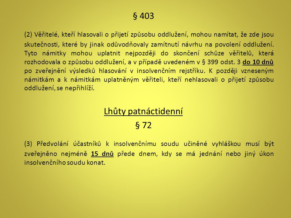 § 403