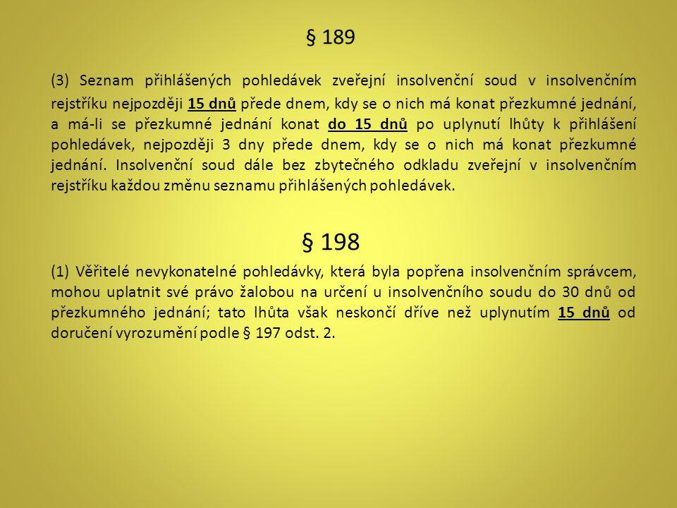 § 189