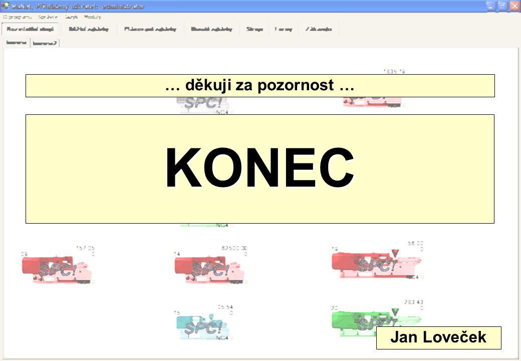 … děkuji za pozornost … KONEC Jan Loveček