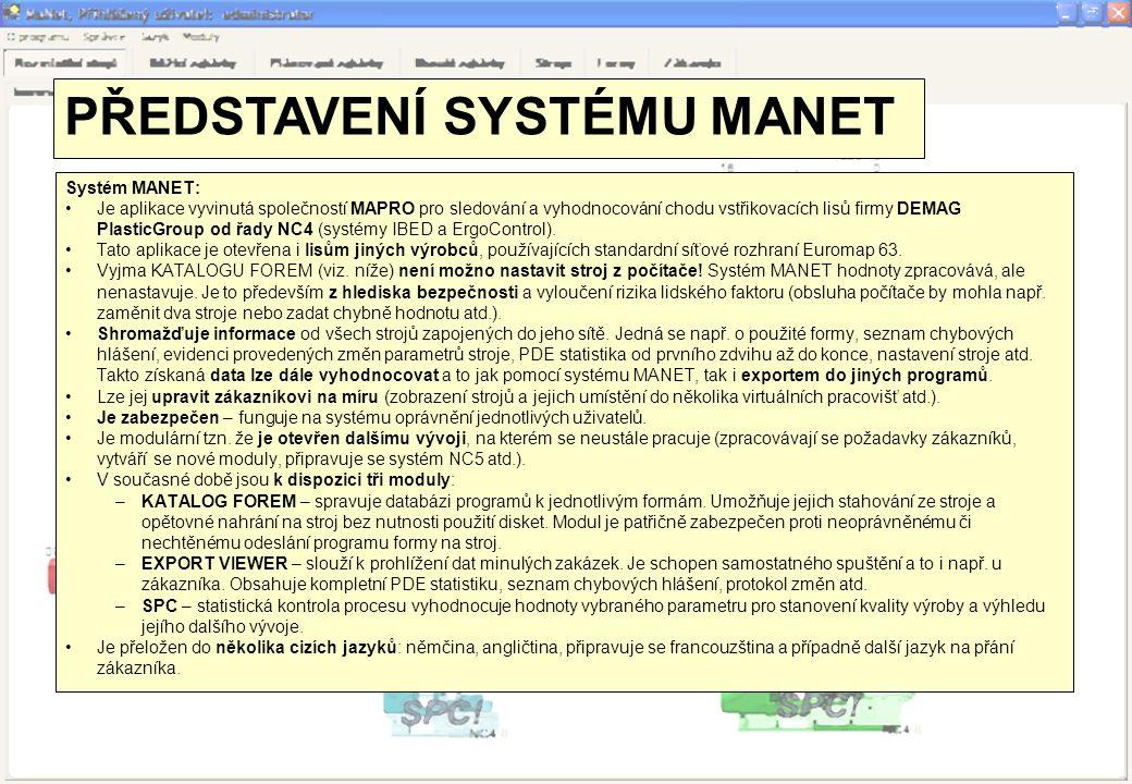 PŘEDSTAVENÍ SYSTÉMU MANET