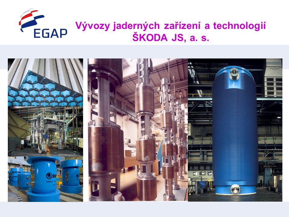 Vývozy jaderných zařízení a technologií ŠKODA JS, a. s.