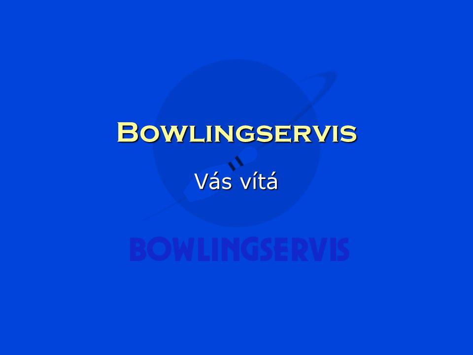 Bowlingservis Vás vítá