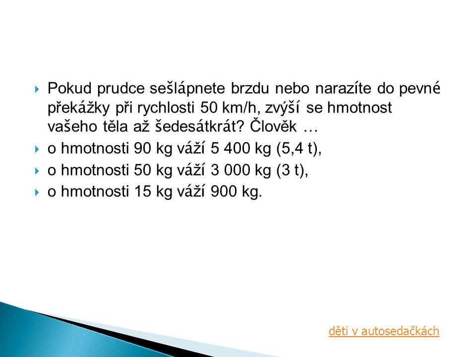 o hmotnosti 90 kg váží 5 400 kg (5,4 t),