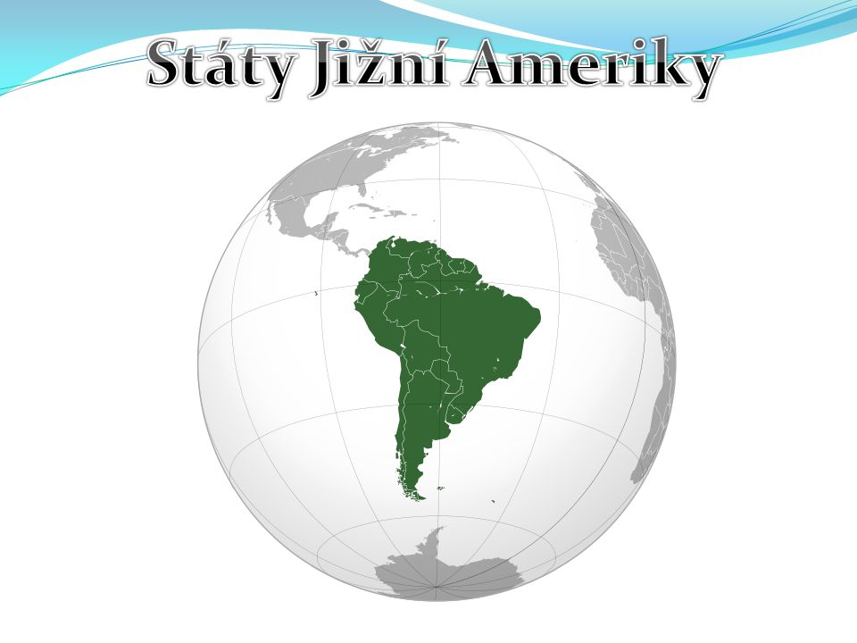 Státy Jižní Ameriky
