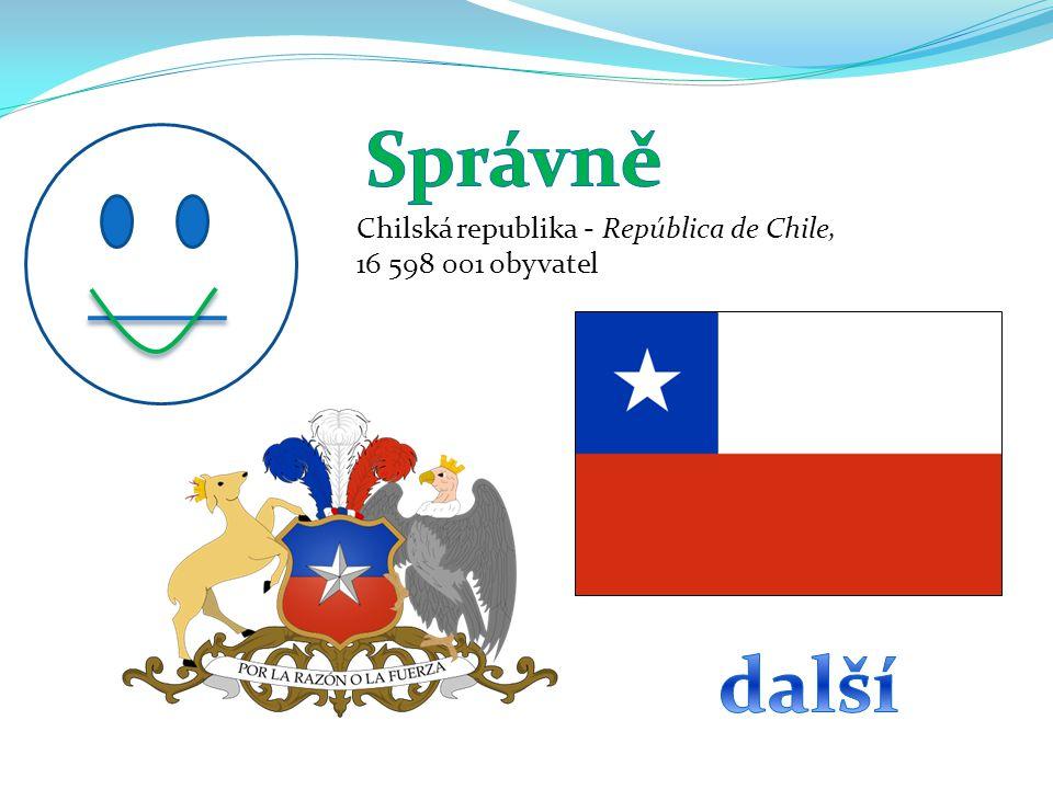 Správně další Chilská republika - República de Chile,