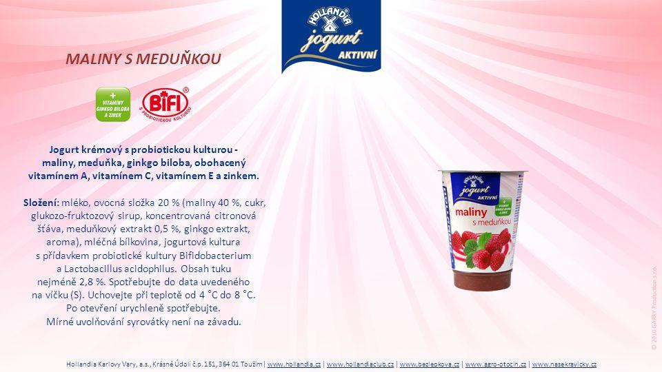 Jogurt krémový s probiotickou kulturou -