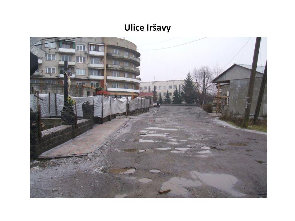 Ulice Iršavy
