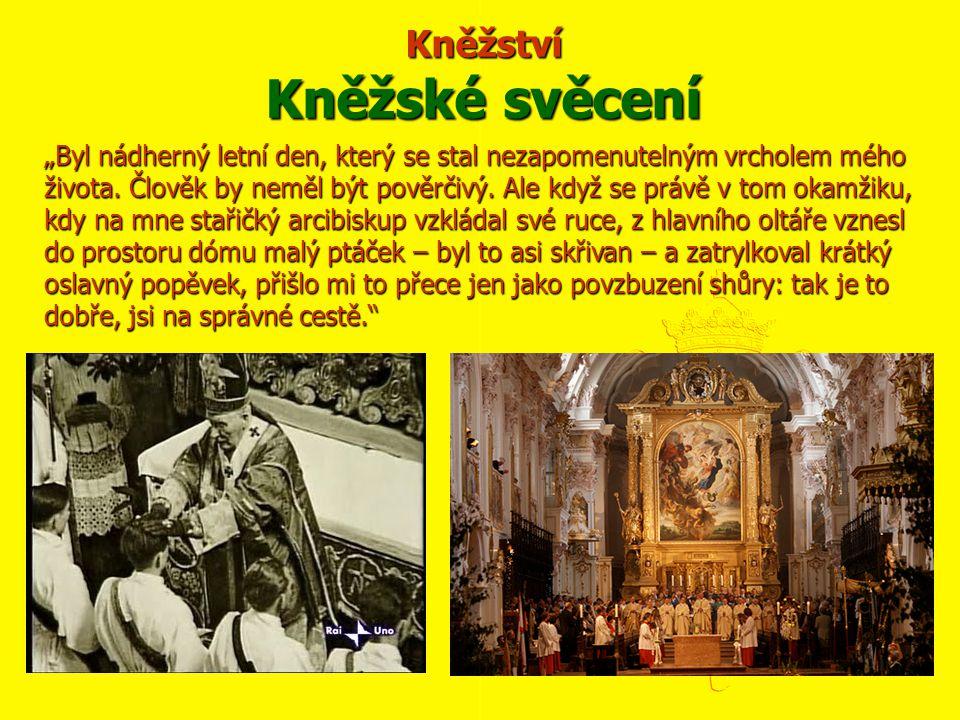 Kněžství Kněžské svěcení