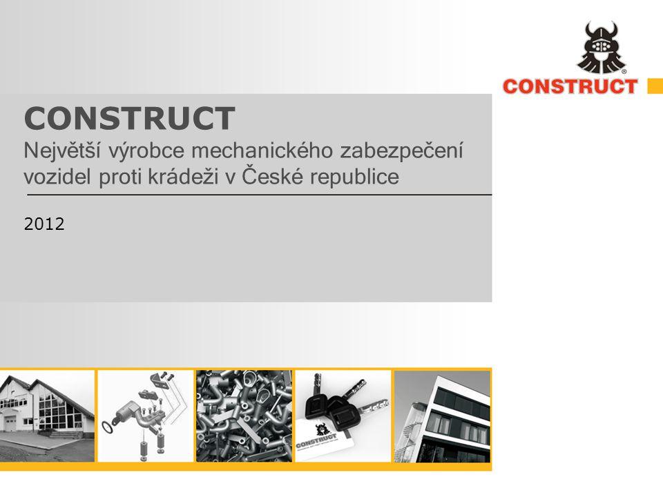 CONSTRUCT Největší výrobce mechanického zabezpečení vozidel proti krádeži v České republice