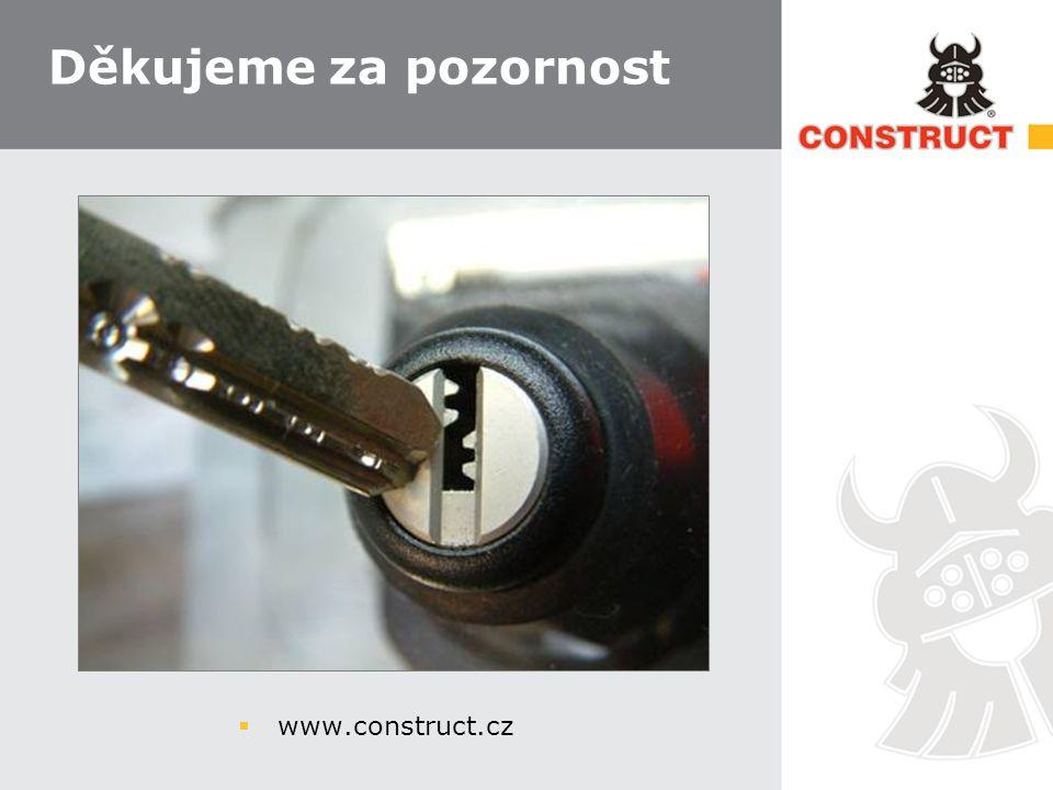 Děkujeme za pozornost www.construct.cz