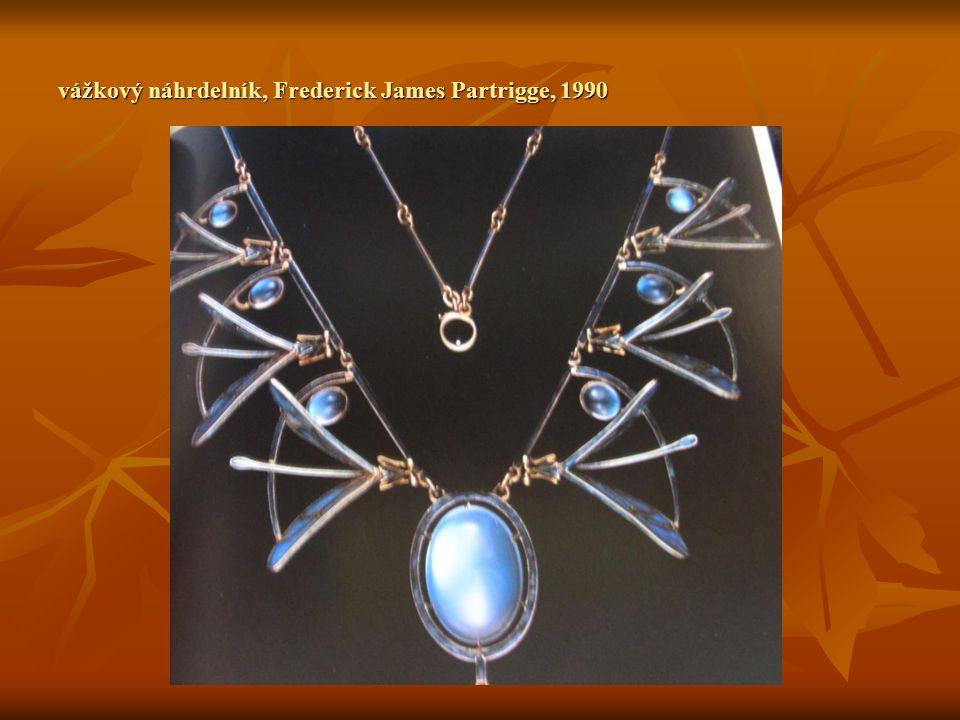 vážkový náhrdelník, Frederick James Partrigge, 1990