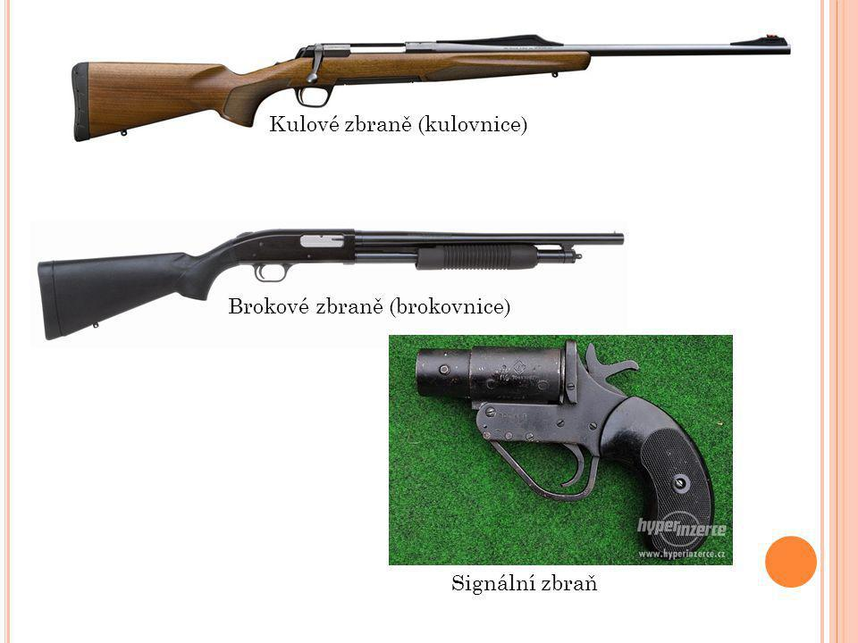 Kulové zbraně (kulovnice)