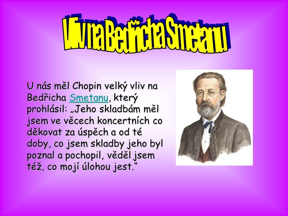 Vliv na Bedřicha Smetanu