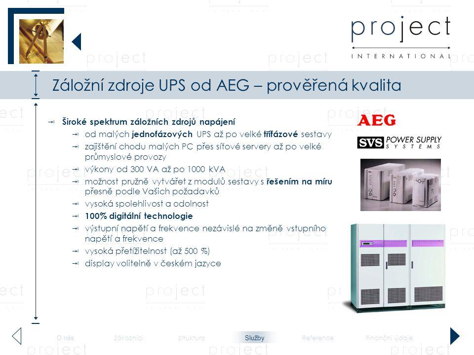 Záložní zdroje UPS od AEG – prověřená kvalita