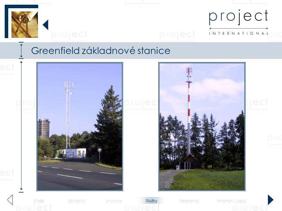 Greenfield základnové stanice - 2