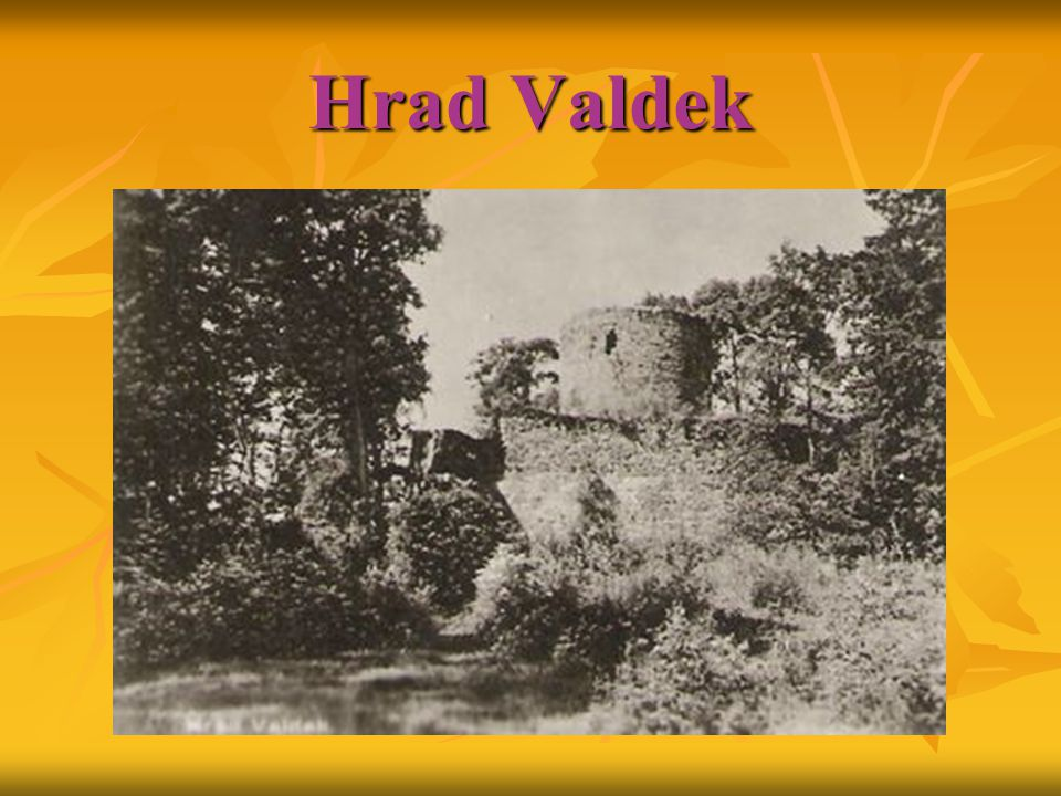 Hrad Valdek